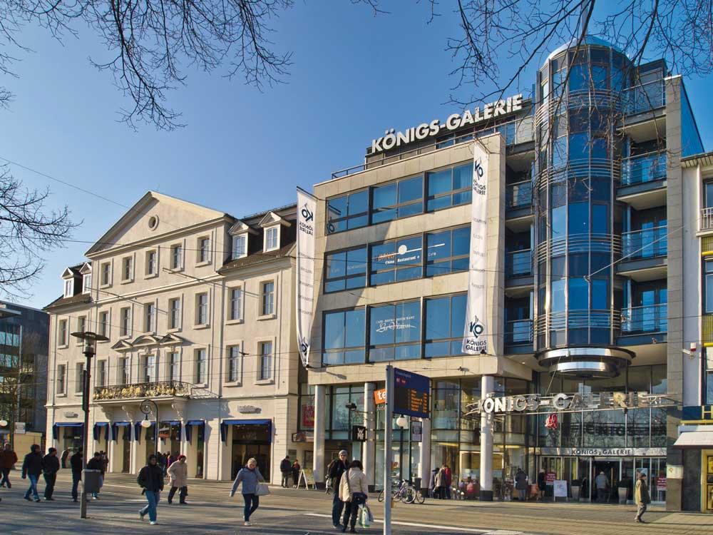 Neuer Eigentümer für die Königs-Galerie in Kassel