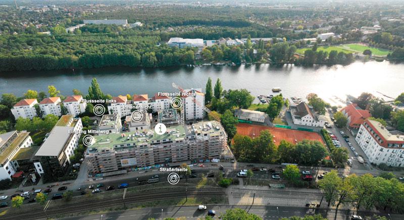 Luftbild vom Hotel Erika in Kitzbühel