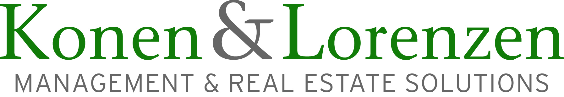 Konen & Lorenzen Management & Real Estate Solutions Logo